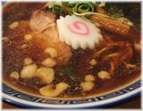 井田商店 醤油ラーメンのスープ