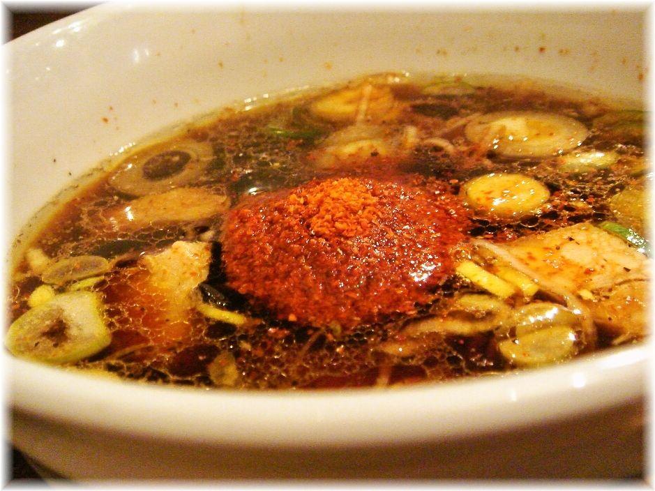 ラーメン凪炎のつけ麺のつけ汁