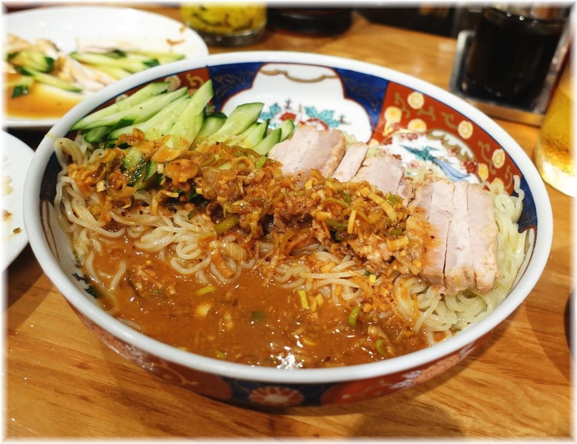 支那麺はしご赤坂店 太肉涼麺