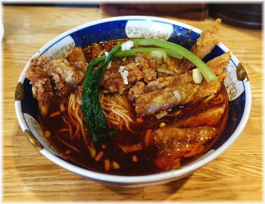 支那麺はしご赤坂店2 排骨酸紅麺