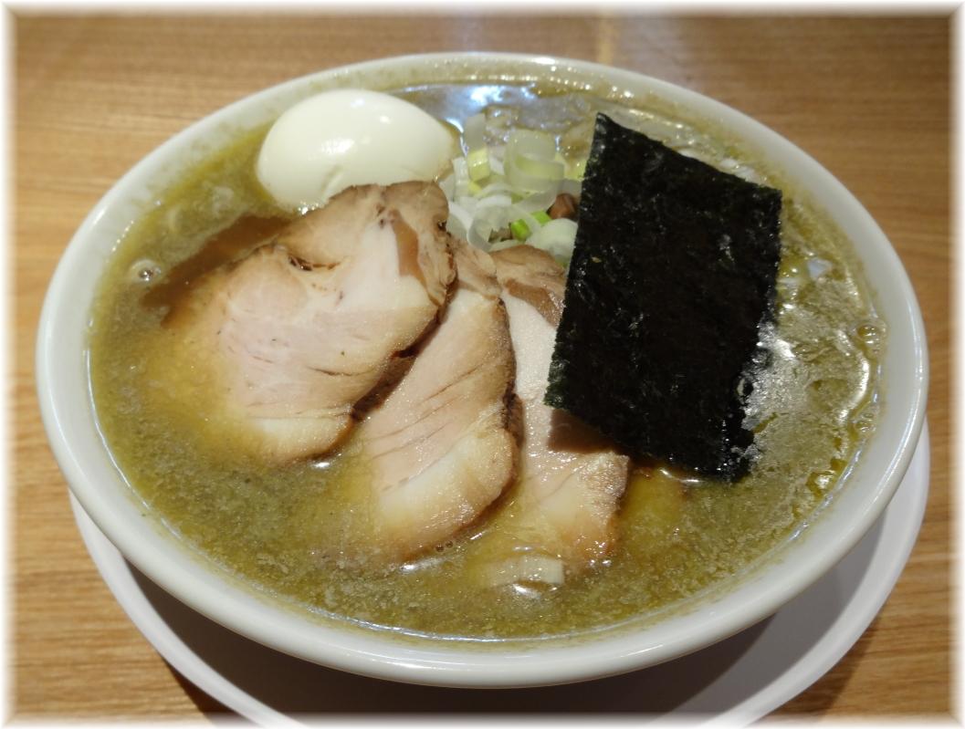つじ田奥の院 煮干蕎麦(上)