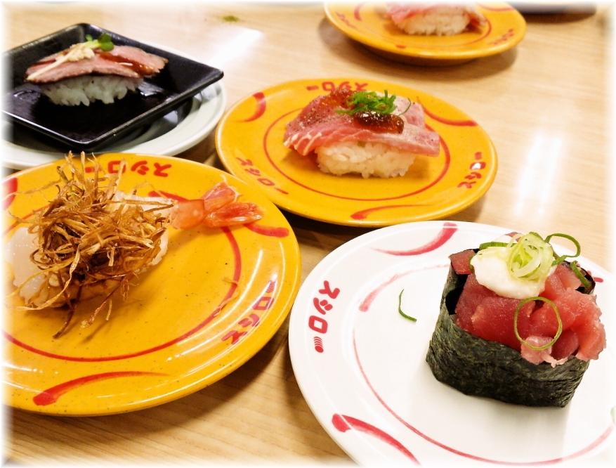 スシロー伊勢原店 お寿司3