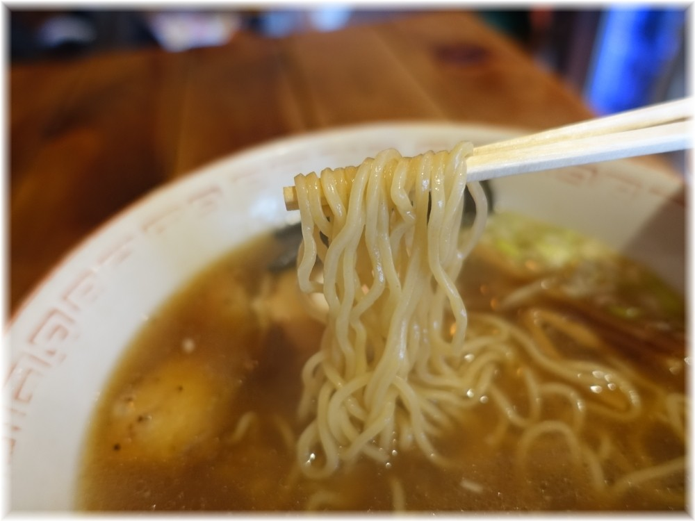斬鉄剣 ラーメンの麺