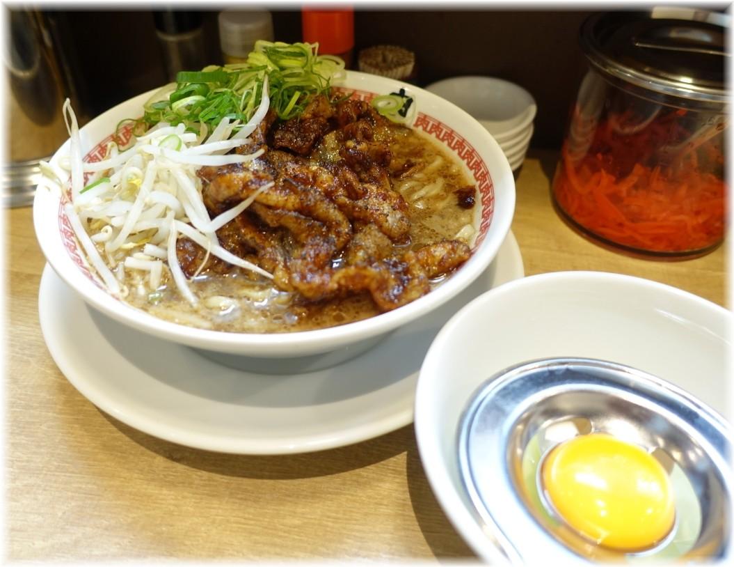 肉汁麺ススム三田店 肉汁麺(レベル2)