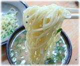 長浜ラーメン 呑龍 つけ麺の麺2