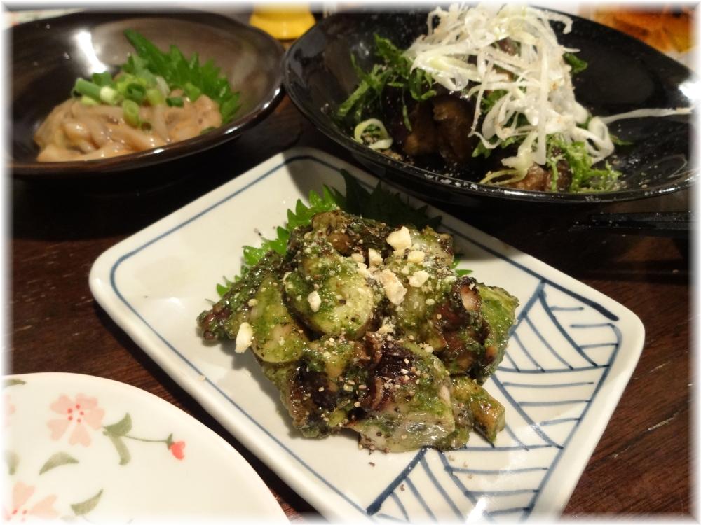 金町製麺3 焼き蛸の紫蘇ソース和え