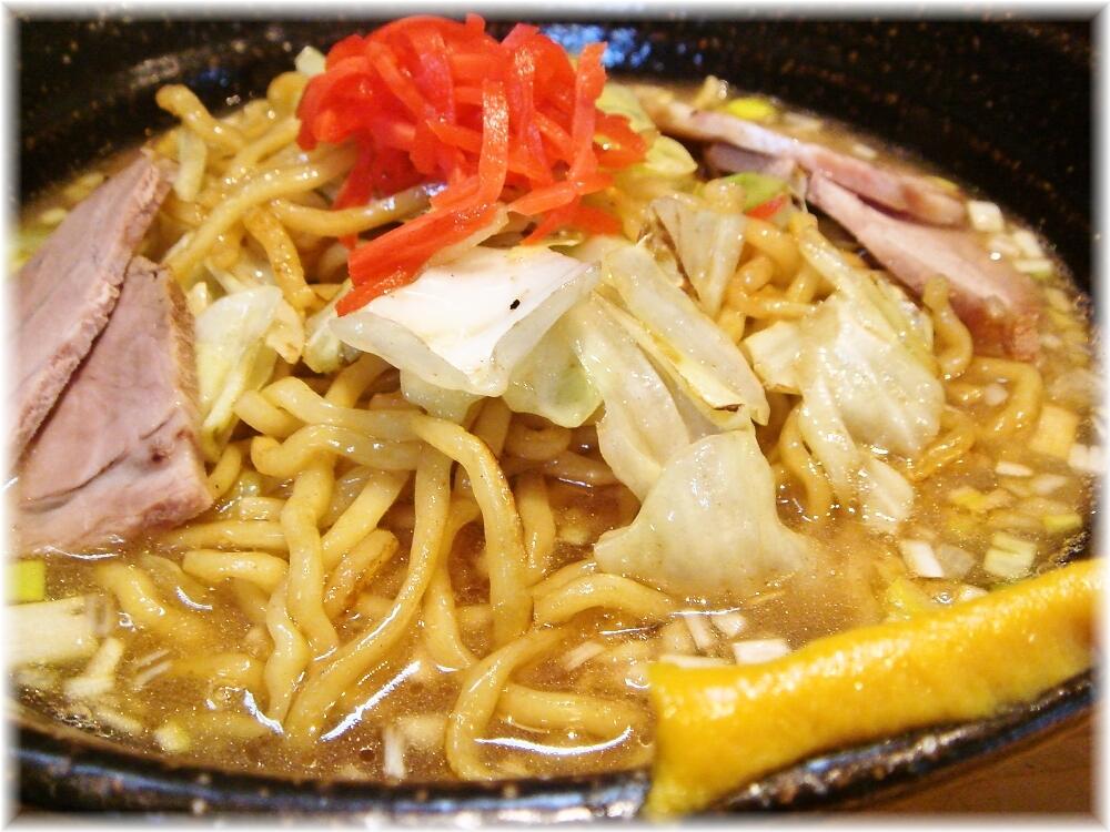 麺家八の坊 スープやきそばの具