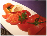 銀座五行 トマト2種の食べ比べ