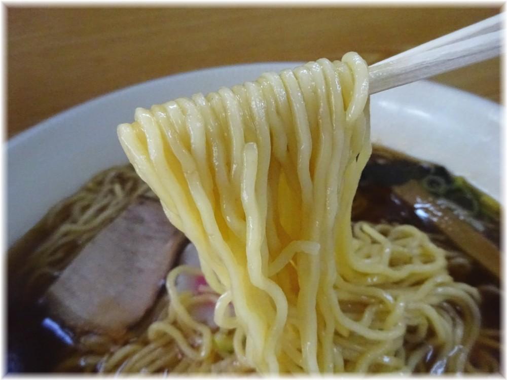 一ノ割大勝軒 中華そばの麺