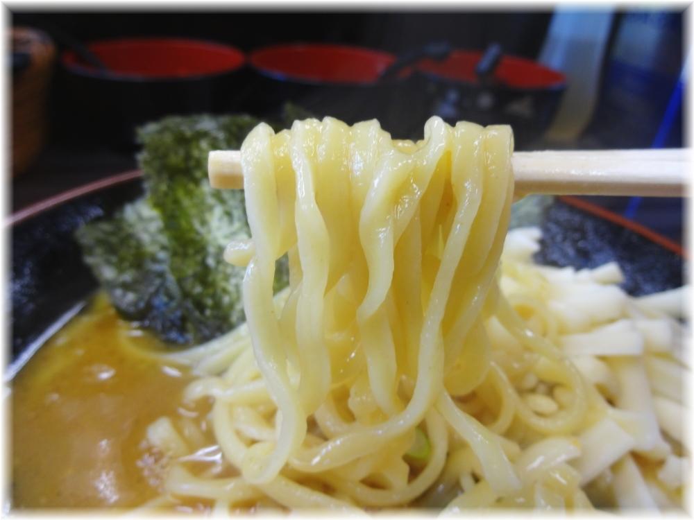 武術家4 カレーチーズらーめんの麺