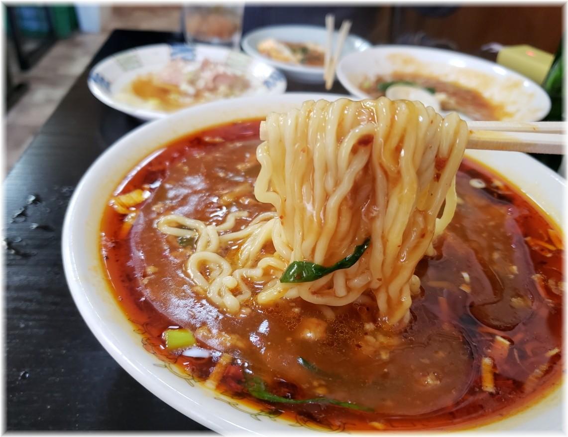 風雅食堂 極ラースタラーメンの麺