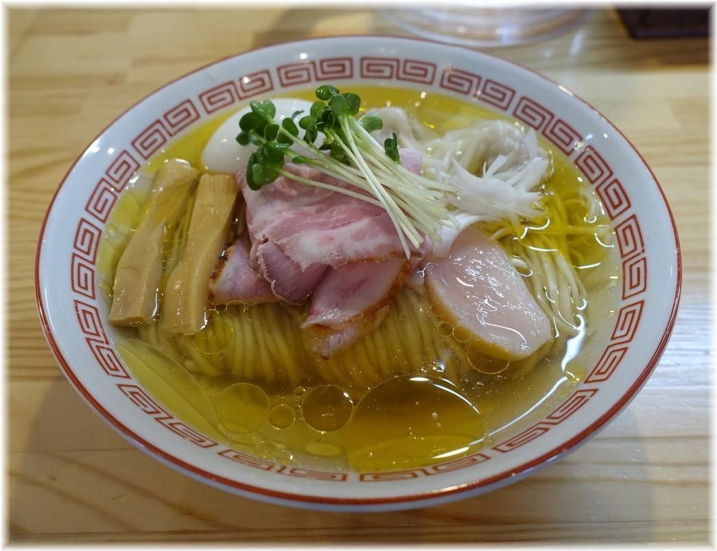 自家製麺くろ松 中華そば(松)