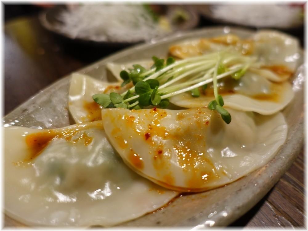 金町製麺9 水餃子のピリ辛