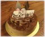 串焼・焼鳥 だいやす 誕生日のケーキ