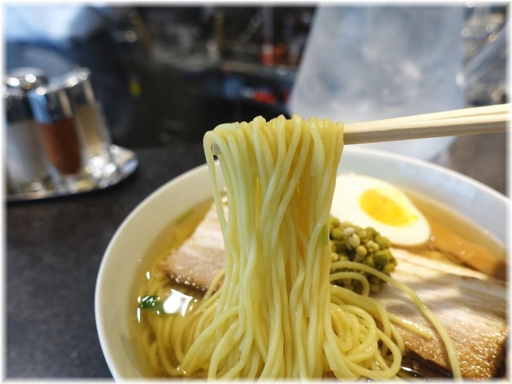麺屋ひょっとこ銀座店 和風実山椒焼豚麺の麺
