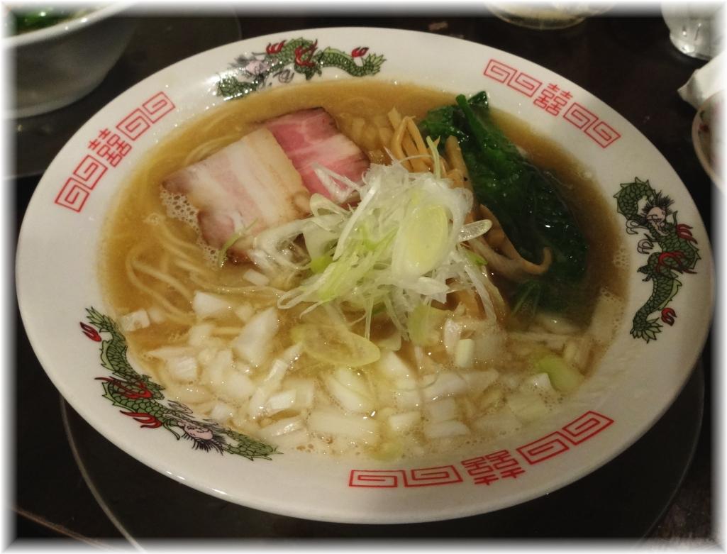 金町製麺4 アゴ白湯そば