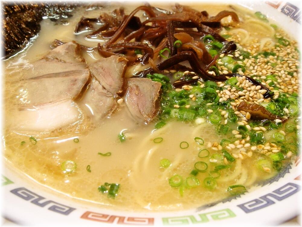 花山(屋台) ラーメンのスープ