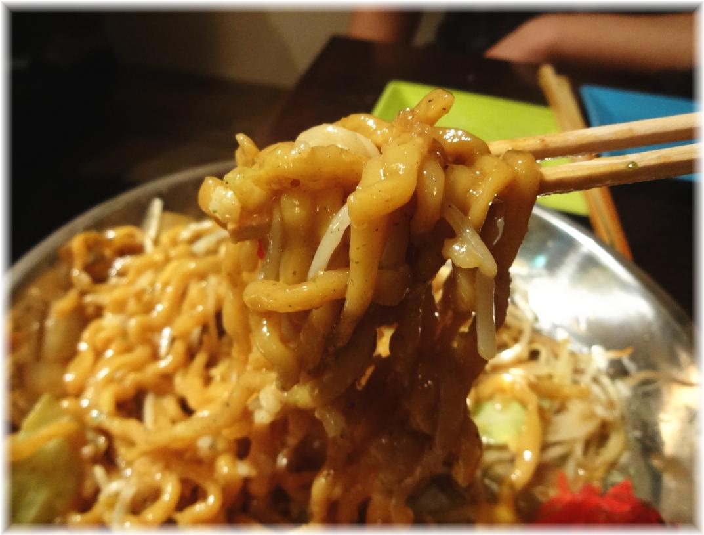 串あげ ムタヒロ4号店 まぜそばの麺