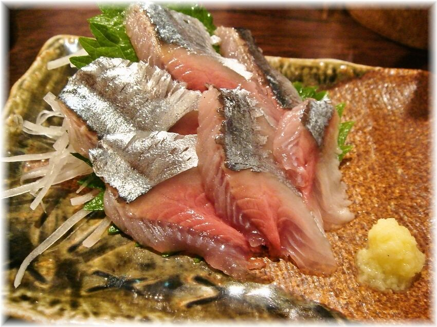金町製麺 さんまの刺身