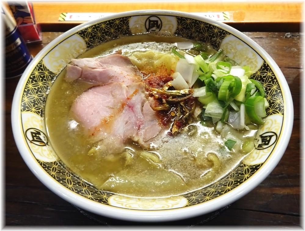 ラーメン凪大宮店 すごい煮干ラーメン
