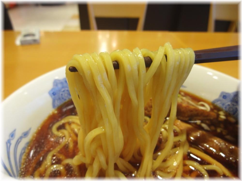 山百合 石川ブラックラーメンの麺