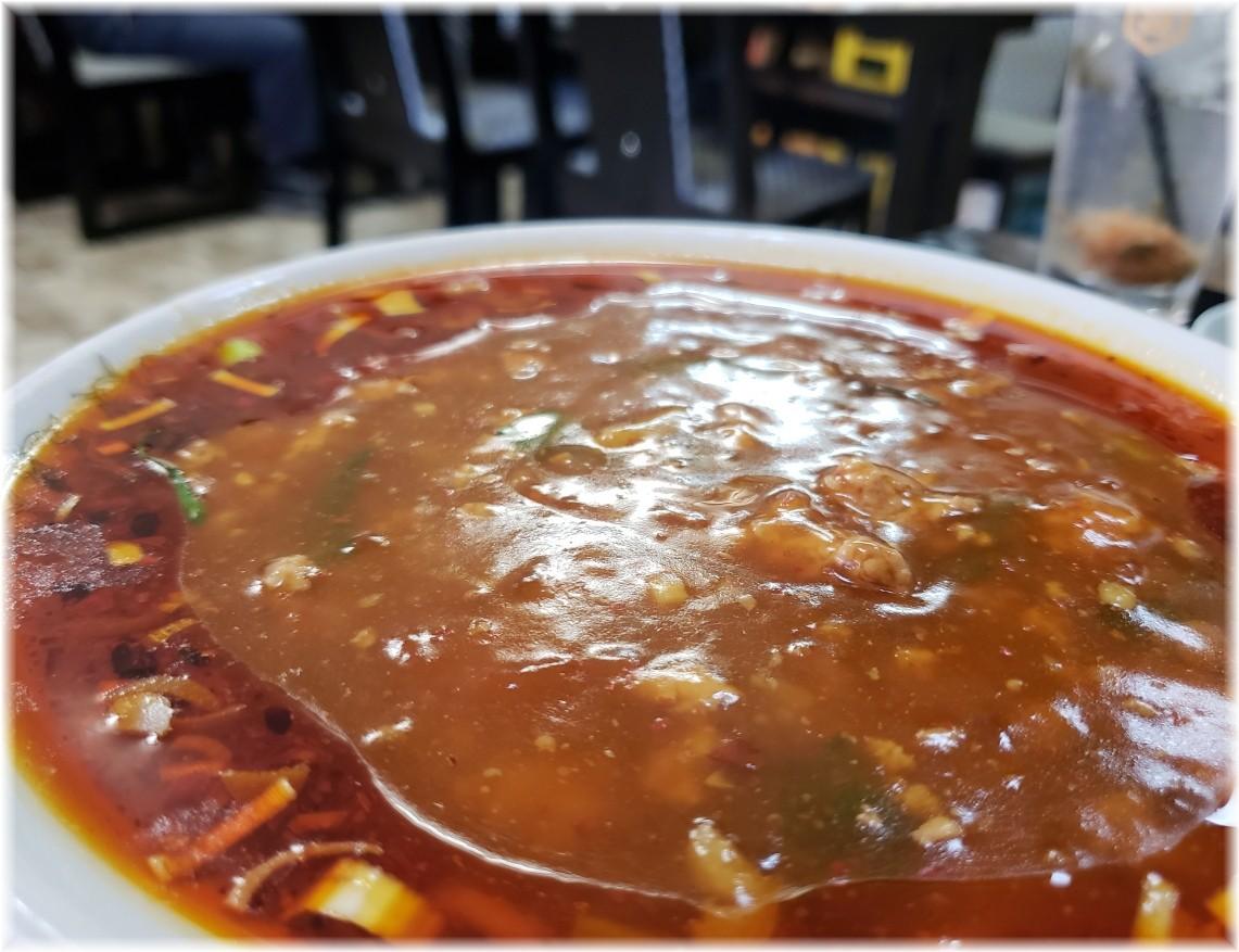 風雅食堂 極ラースタラーメンのスープ