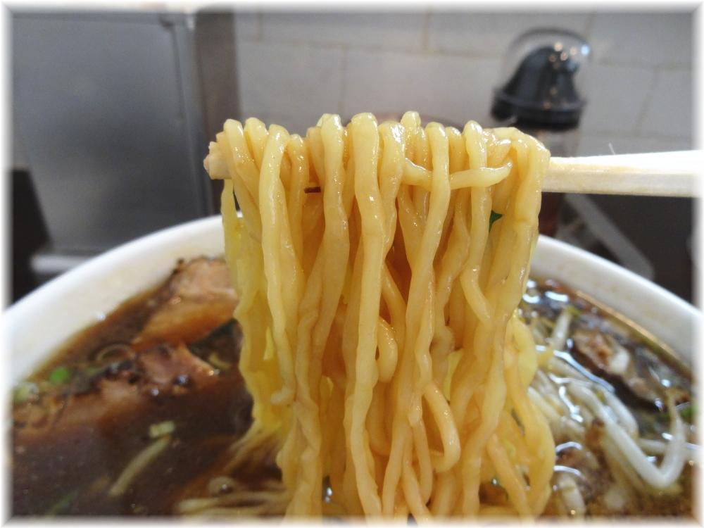 三代目味の大西 醤油チャーシューわんたん麺の麺