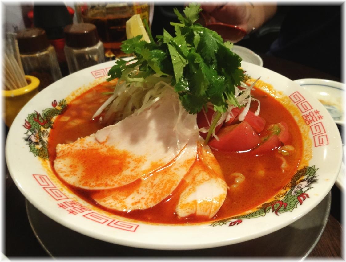 金町製麺3 冷しトムヤムそば