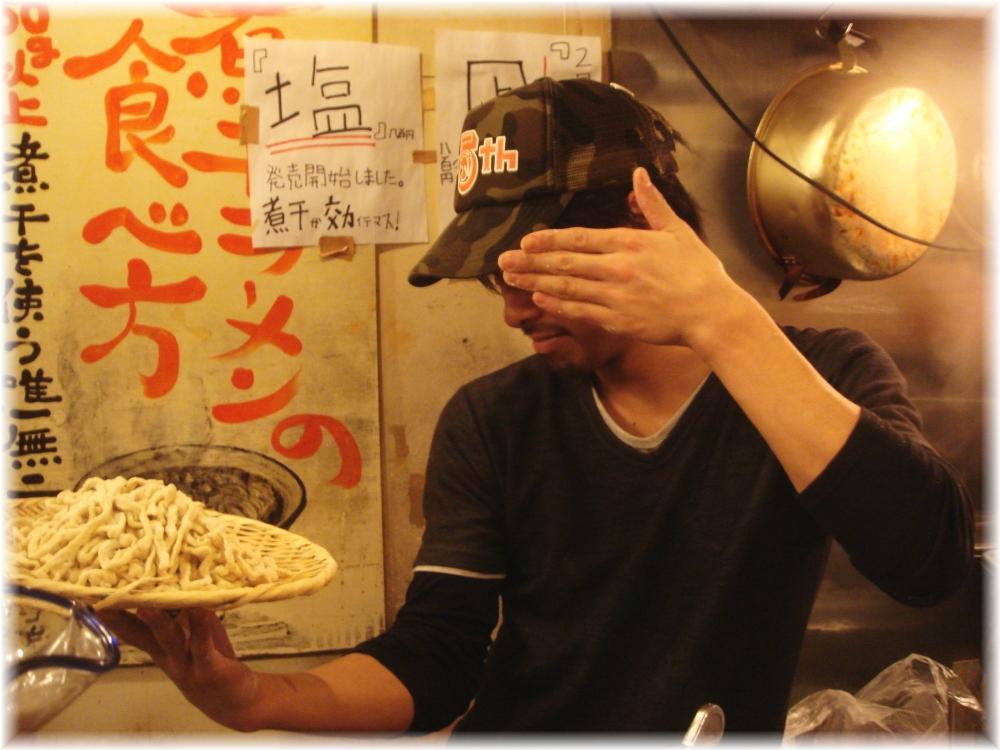 G凪3 店員さんと麺w