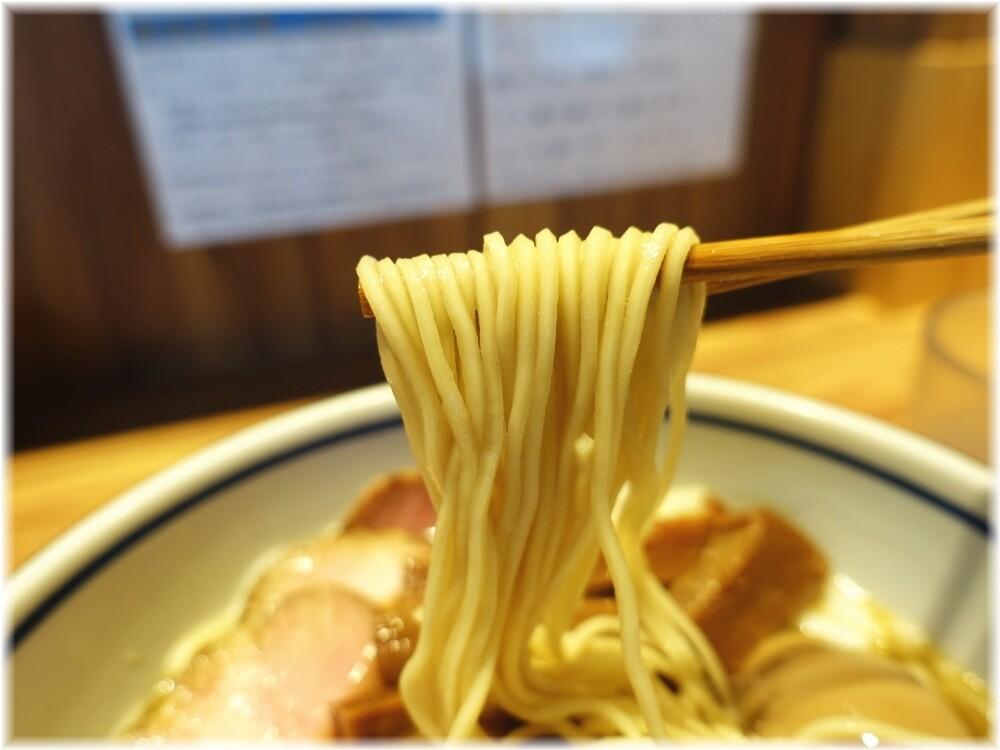 中華そば堀川 いりこそばの全部入りの麺