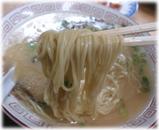 呑龍 柚辛らーめんの麺(博多麺)