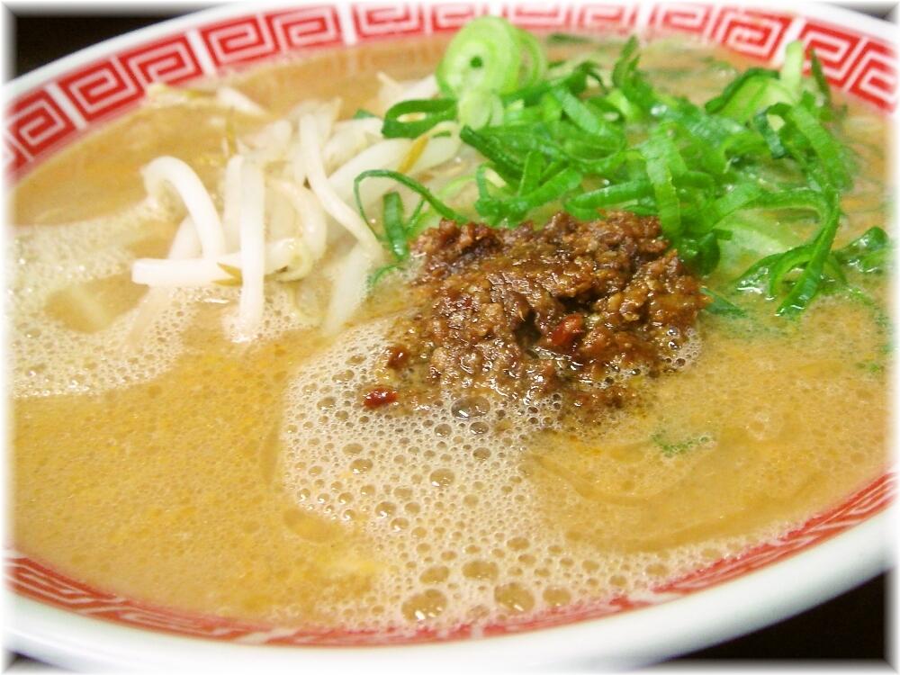 赤のれん&とん吉2 担々麺のスープ