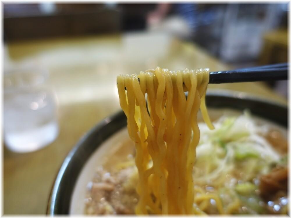 ラーメン郷 味噌ラーメンの麺
