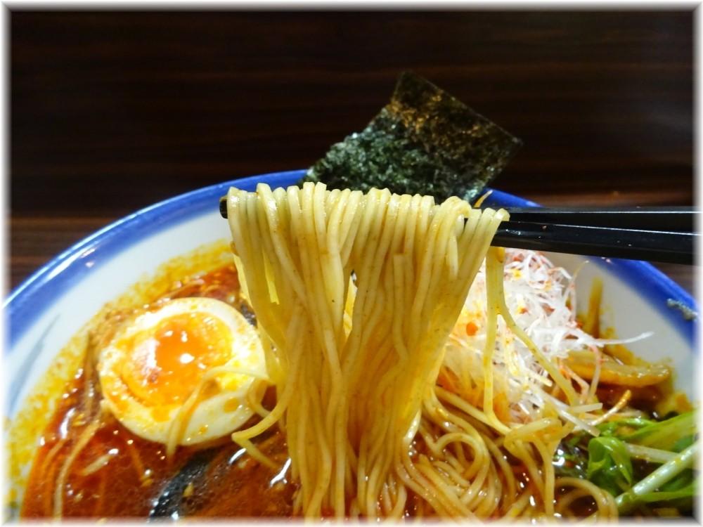 AFURI4 柚子辣湯麺の麺