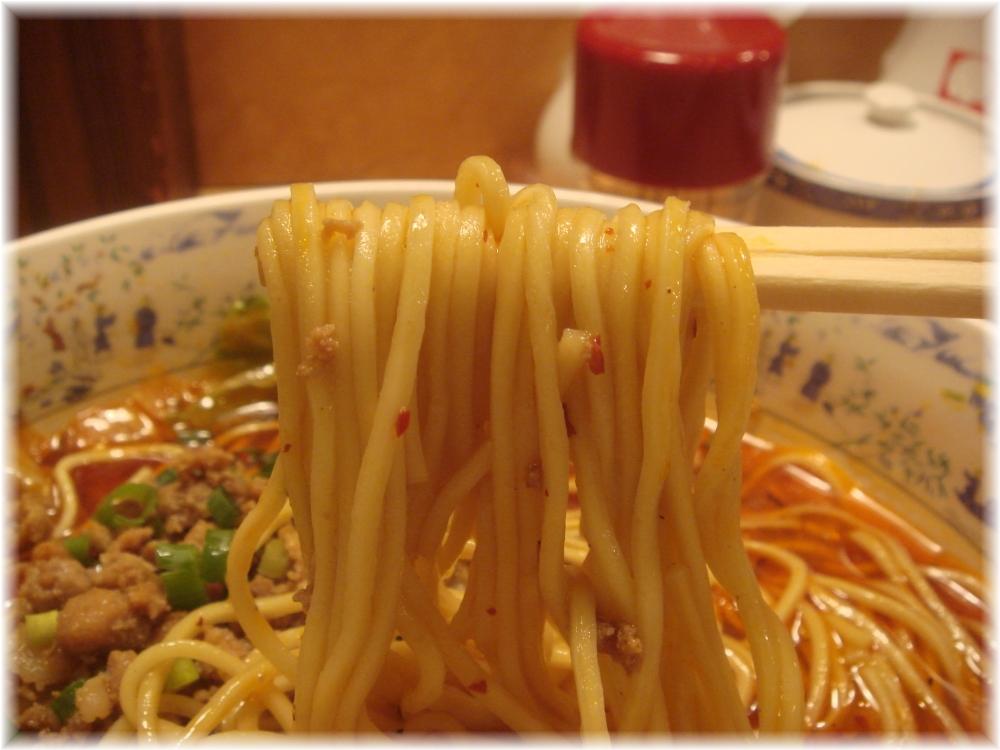 大明担担麺 箱崎店 担担麺の麺