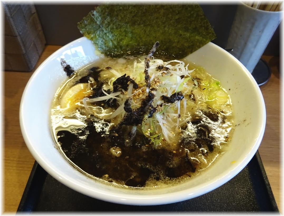 麺館SHIMOMURA 黒とんこつ