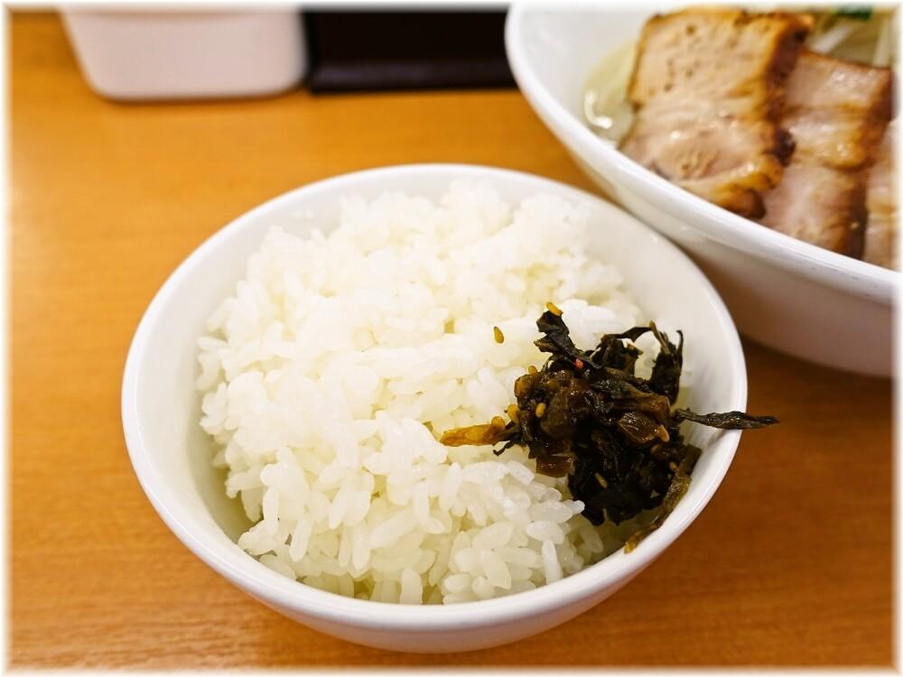 富白 ライス小(高菜付き)