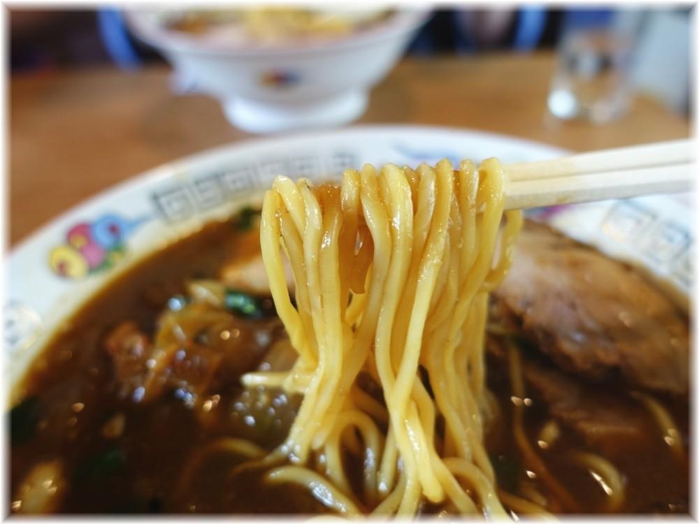 らーめん八平 アリランチャーシューメンの麺