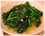 台湾ラーメン味仙 青菜炒め(炒青菜)