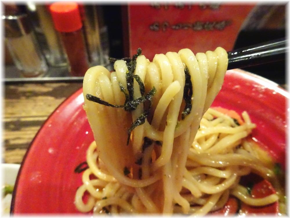 三田製麺所4 ぶっかけ明太子の麺