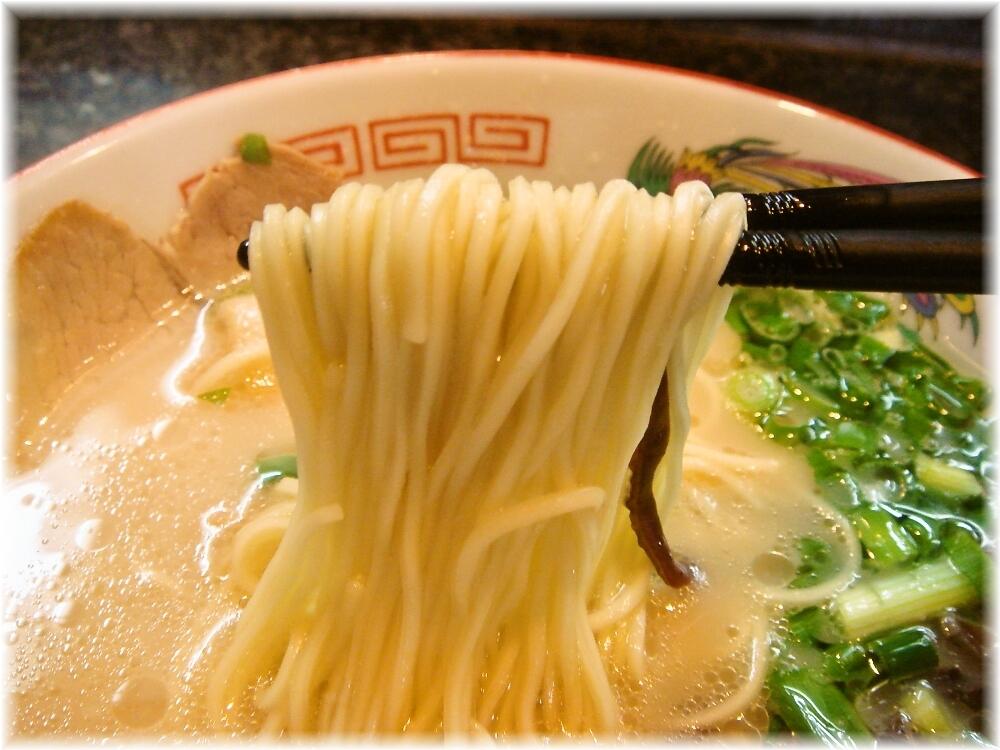 ぷらっとラーメン博多NO1 ラーメンの麺