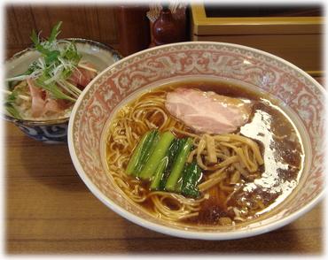 麺処三四郎 むらさきとチャーシューのたたき飯