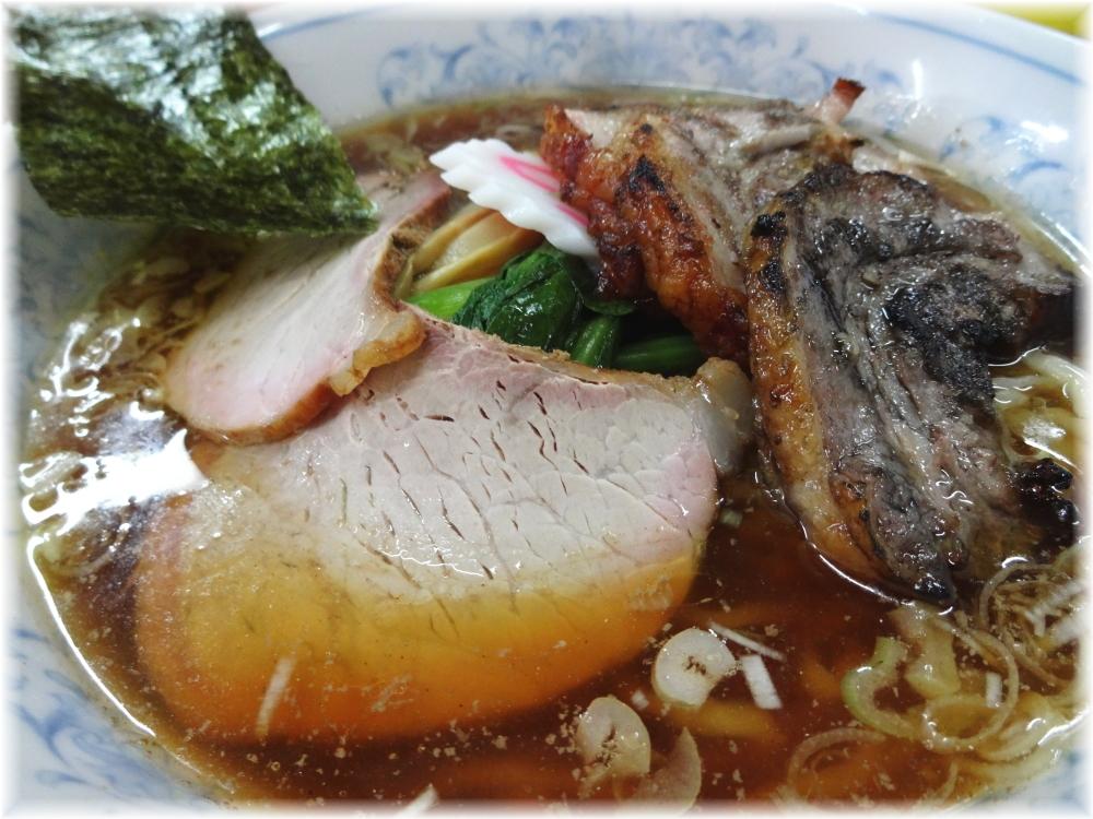 白河中華そば2 支那焼豚麺の具