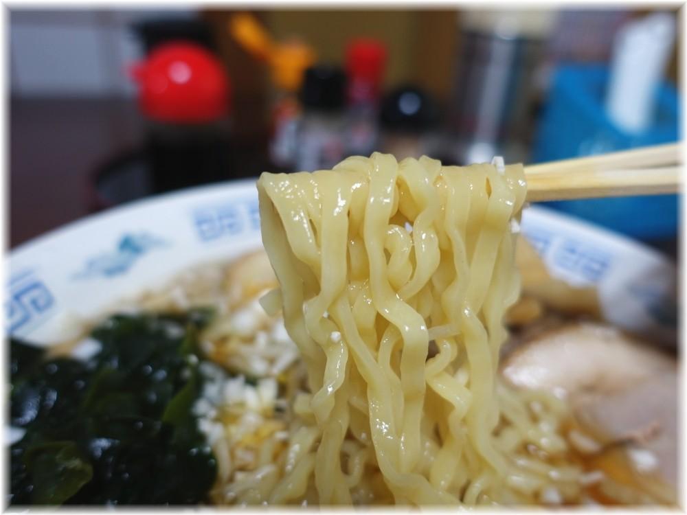 サトウ チャーシューラーメンの麺