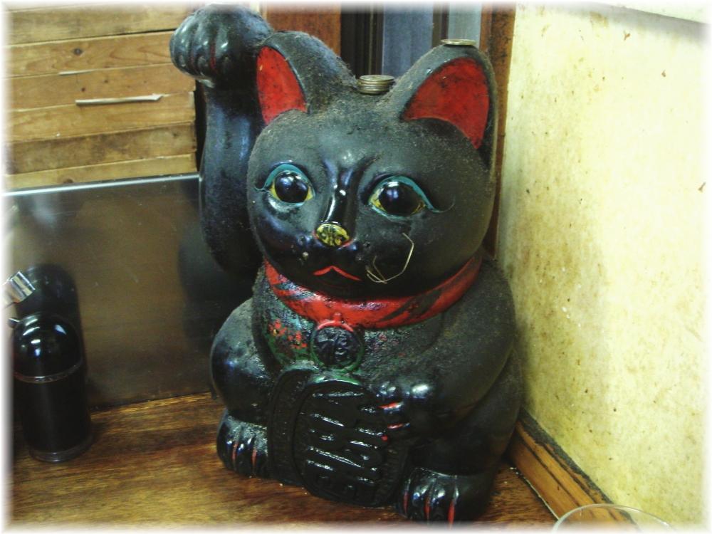ふくちゃんラーメン 招き猫