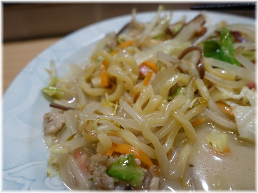 じげもんとん 白ちゃんぽん(小)の麺2