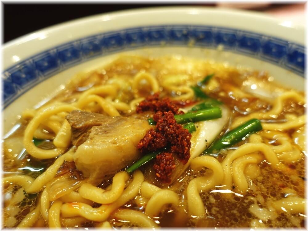 中華そばたた味 無料トッピングの辛味