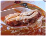 太陽のトマト麺 大将のチーズラーメンの鶏チャーシュー