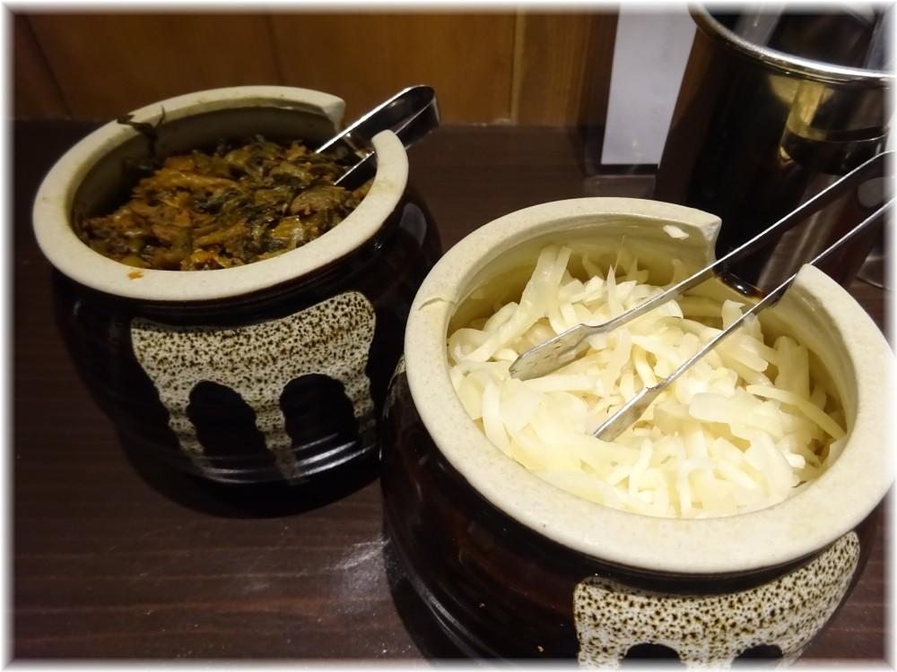 一瑞亭 辛子高菜と生姜