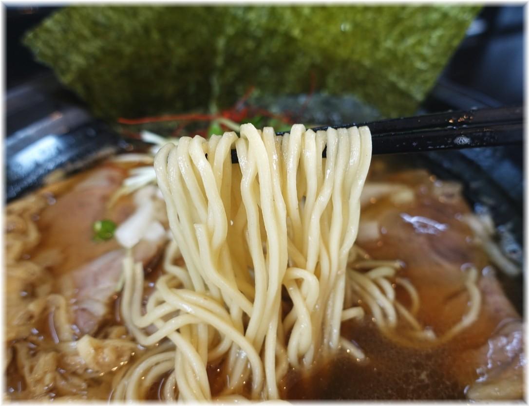 麺や笑 特製にぼしらーめんの麺